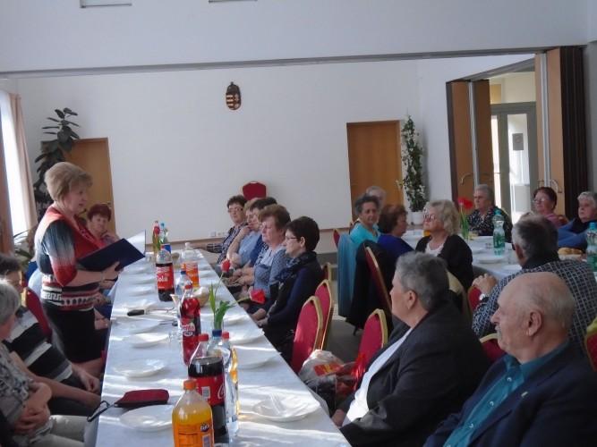 20 éves születésnapját ünnepelte a Győrsövényházi Nyugdíjas Klub