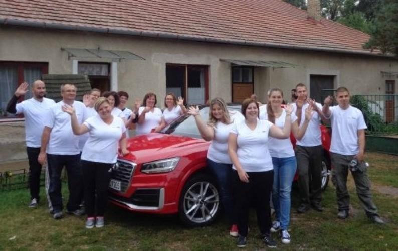 Felújították az óvodát az Audi önkéntes napon