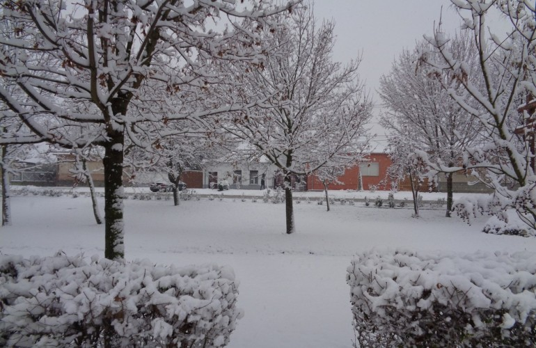 Ilyen a havas Győrsövényház