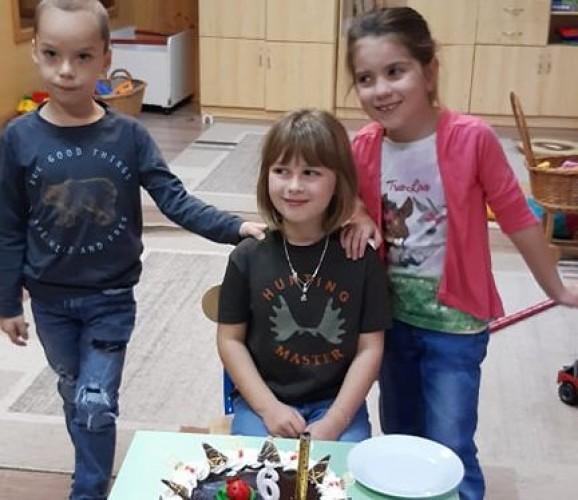 Schindler Marie-t köszöntötték 6. születésnapja alkalmából