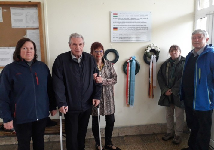 Német vendégek látogattak Győrsövényházra