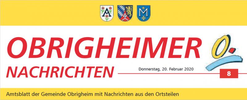 Az Obrigheimer Nachrichten is beszámolt a kápolnafelújításról