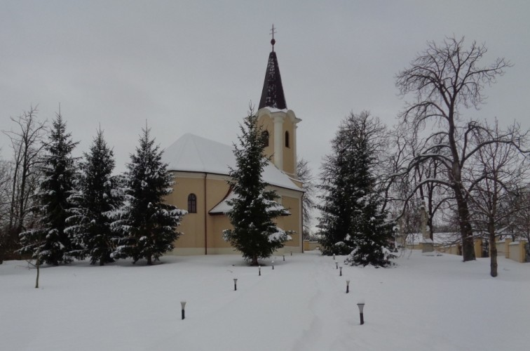 Hat éve nem esett ekkora hó Győrsövényházon