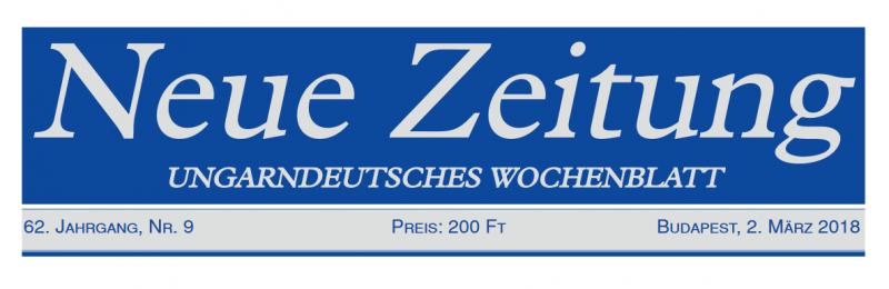 A győrsövényházi kitelepítettek tervezett útjáról írt a Neue Zeitung