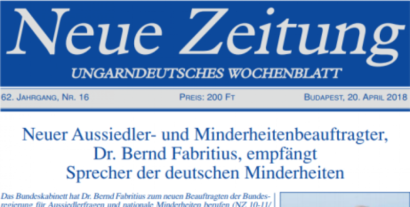 Újabb két német nyelvű, Győrsövényházhoz kötődő cikk jelent meg