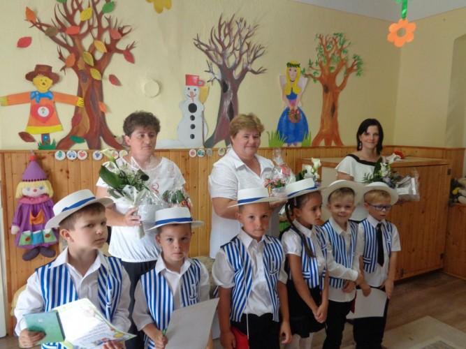 Évzáró ünnepséget tartottak az óvodában