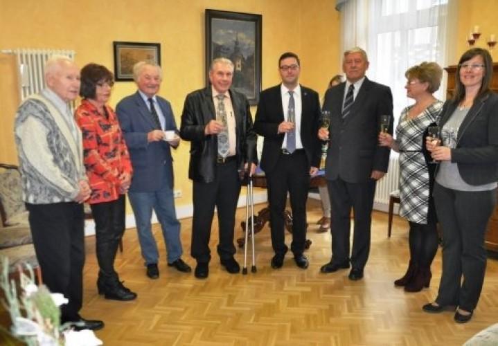 Weilburgba látogatott Hokstok Imre polgármester