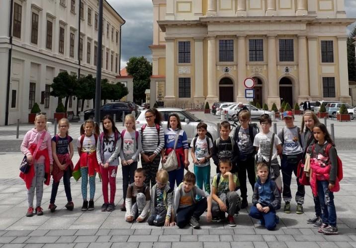 Szombathelyre kirándultak az iskolások