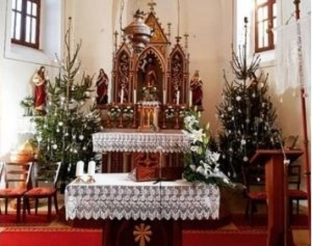 A szentmisék rendje a következő két hétben
