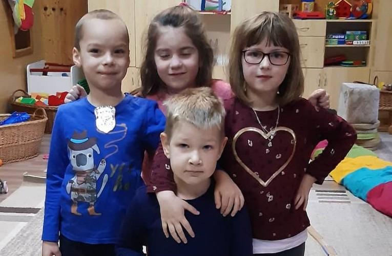 Gunyhó Krisztiánt köszöntötték az óvodában 5. születésnapja alkalmából