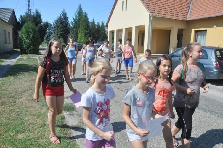 Iskolásoknak tartott tábort a német nemzetiségi önkormányzat