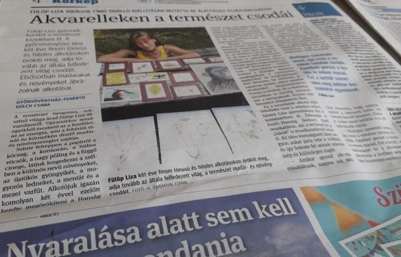 Győrsövényházi tehetségről írt a Kisalföld