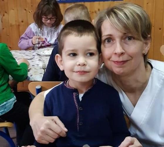 Németh Zsombort köszöntötték az oviban