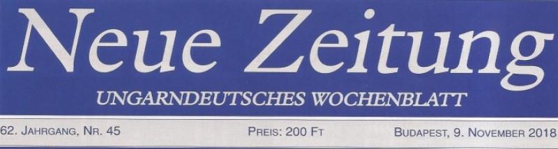 A Neue Zeitung is beszámolt a győrsövényházi látogatásról