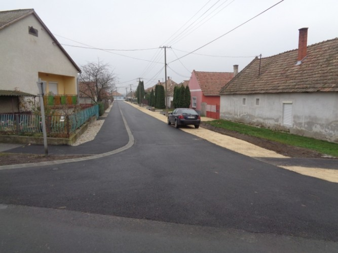Hivatalosan is kész a Béke utca felújítása