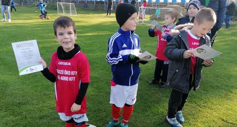 Egyre több gyerkőc focizik Győrsövényházon