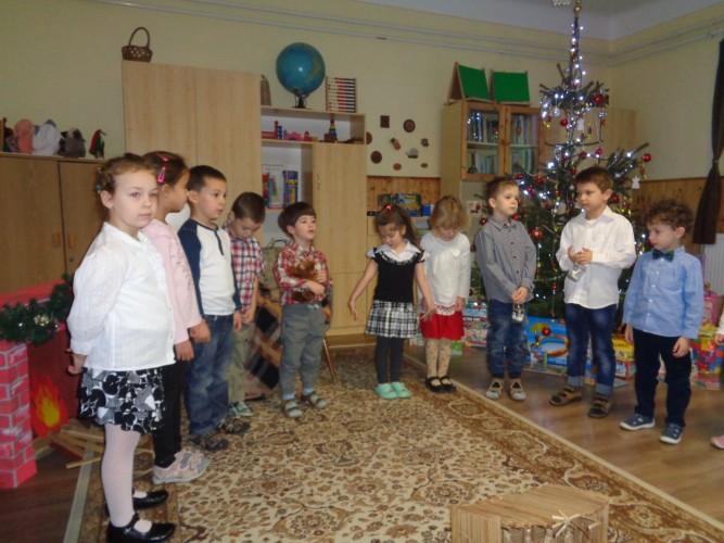 Karácsonyi ünnepséget tartottak az óvodában