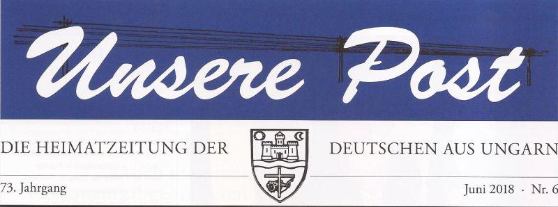 Győrsövényházzal kapcsolatos cikkek az Unsere Postban
