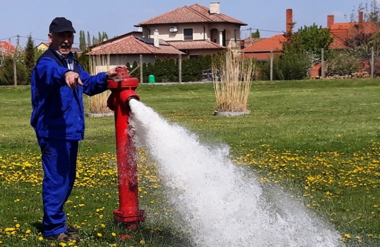 Figyelem, öblítik az ivóvízhálózatot!