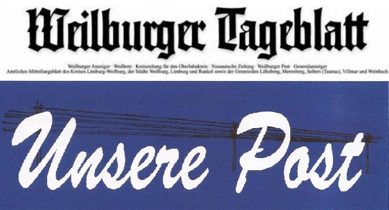 Győrsövényházról szóló cikkek két német lapban