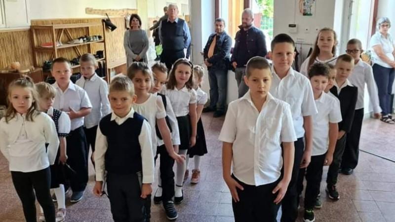 Győrsövényházon is megnyílt a tanév